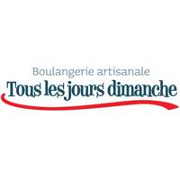 Logo boulangerie artisanale Tous les jours dimanche