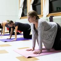 Galerie photo - Yoga prénatal 1