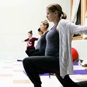 Thumbnail - Yoga prénatal